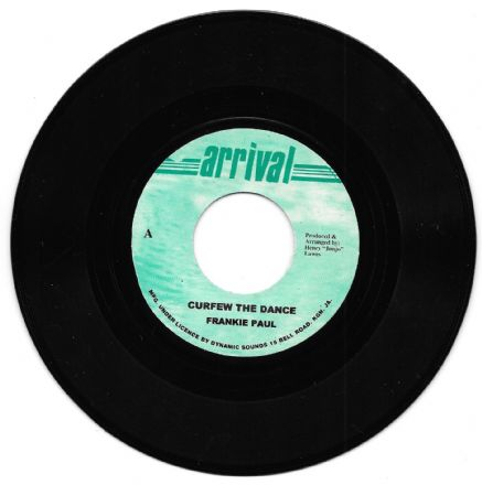 Frankie Paul - Curfew The Dance/Version (Arrival)<Volcano> UK 7""